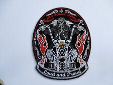 Old School Biker Patch Sew Iron Embroidered Mens Rider biker vest Motorcycle