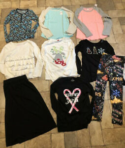 Lot of Girl's Clothes Size 14/ 16 Justice+ Most New