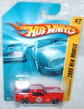 Hot Wheels 2008 New Models # 27 1965 Ford Mustang Fastback red