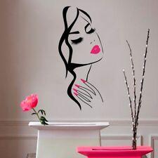 Beauty Salon Store Nail Hair Salon Vinyl Wall Stickers Home Room Decor Wallpaper