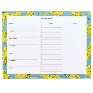 Weekly Planner Pad - Vibrant Vibes by Busy B