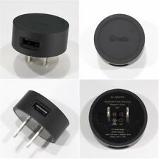 Lot of 10 NEW BLACK Compact USB Wall Charger (5V/1A) *OPEN BOX!* ++FREE SHIP!