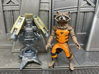 "Marvel Legends Hasbro Guardians of Galaxy Groot BAF Rocket Raccoon 6"" Figure"
