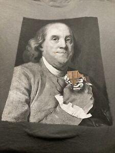 Benjamin Franklin GDC Vintage STYLE TEE SHIRT Medium shirt very nice  52