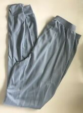 Polar Skins Light Blue Lightweight Thermal Hiking Pants Size M