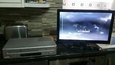 Tevion tevhs 4-Reproductor Vhs Grabadora Reproductor de DVD Player Combi no remoto