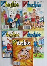 2007/08 ARCHIE Digest #233 235 240 244 245 VF- to FN- LOT of 5
