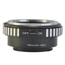 Nikon AI G Nikkor AF-S DX Lens to Sony E Mount NEX NEX-5 3 A7 A7R Camera Adapter