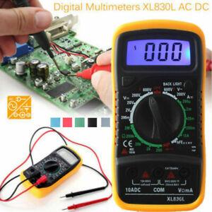 XL830L Multimètre digital voltmètre ampèremètre ohm testeur électrique numérique