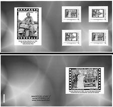 """Collector Booklet 4 Perso stamps """"Moto Harley-Davidson - 67 years D-DAY"""" 2011"""