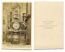 CDV Cathédrale de Strasbourg Horloge Astronomique Circa 1870   Ref 4