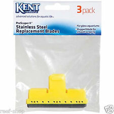 Kent Marine Pro Scraper Stainless Steel Replacement Blades 3 pack Free USA Ship