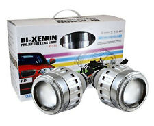 G5 Bi-Xenon Headlight Projector Lens with Demon eye and Ballast, H4/H1/9004/9005