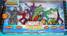 "MARVEL LEGENDS SPIDER-MAN FEARSOME FOES BOX SET NEW 6"" FIGURES CARNAGE VULTURE"