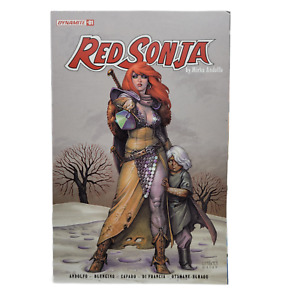 Red Sonja Vol 9 #1 Cover C Variant Joseph Michael Linsner Cover 2021 Auction 5