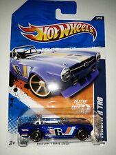 Hot Wheels Triumph TR6. Blue. Faster Than Ever Series. 2010 Mattel. (P-5)