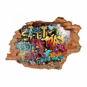 Deko Wandaufkleber Graffiti Gunstig Kaufen Ebay