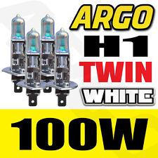 AUDI A3 8L1 H1 100W SUPER WHITE HALOGEN HID HIGH MAIN BEAM HEADLIGHT BULBS PAIR