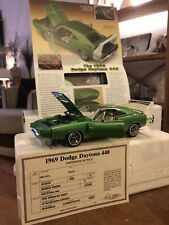 Franklin : Danbury Mint 1969 Dodge Charger Daytona 440 Hemi 1:24