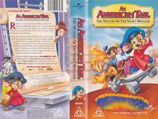 AN AMERICAN TAIL  THE MYSTERY OF THE NIGHT MONSTER VHS VIDEO PAL~ A RARE FIND~