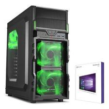 GAMER PC AMD FX-8300 8x 4,2GHz 16GB DDR3 1TB HDD GTX1050 TI Windows 10 Gaming