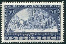 1933 Austria WIPA 50g+50g nuovo gomma integra MNH cert. Diena **