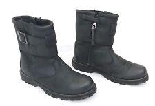 TIMBERLAND KIDS BLACK LEATHER WATERPROOF BOOTS UK2 EU34.5 US2.5 FREE UK POST!!