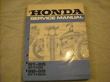 91-95 Honda Service Manual ST1100 ST1100A