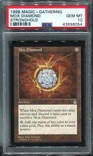 Mox Diamond Stronghold PSA 10 Gem Mint MTG Magic the Gathering bgs 9.5 equal