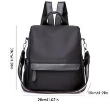 Anti-theft Waterproof Women Nylon Backpack Travel Rucksack Shoulder School Bags