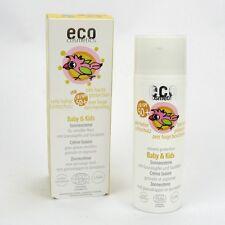 (34,30/100ml) Eco Cosmetics Baby & Kids Sonnencreme LSF 50 Granat Sanddorn 50 ml