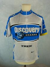 NIKE Maillot vélo Homme Taille XL - Manches courtes - Discovery Channel