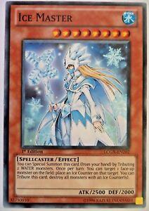 YUGIOH ICE MASTER LCGX-EN202 1st EDITION CARD