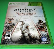 Assassin's Creed: The Americas Collection Xbox 360 *Factory Sealed! *Free Ship!