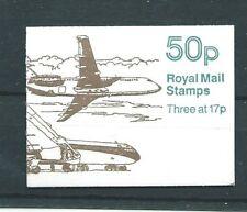 Gb Sgfb57 1990 50p Aircraft Series No.3 Booklet
