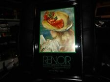 SIGNED PIERRE-AUGUSTE RENOIR THE LITTLE READER LITHO MC176 OLD MASTER EXHIBITION
