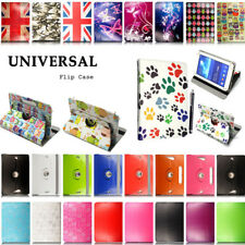 "UK Universal Case For Samsung Galaxy Tab A A6 7"" 8"" 10.1"" Tablet Leather Cover"