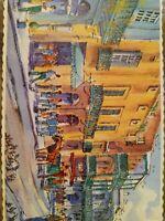 Artist John McCann New Orleans Street Scene.