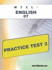 MTEL English 07 Practice Test 2 by Sharon Wynne (2011, Paperback)