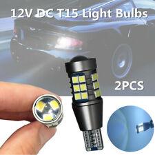 2PCS 1000 Lumens Canbus Car Reversing Light Bulb Error Free T15 912 LED 27 Smd