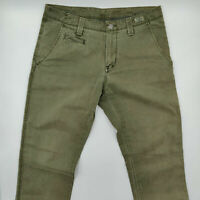 Tommy Hilfiger W34 L32 grün Designer Denim Herren Retro Vintage Jeans Hose Mode