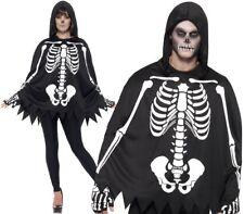 Adulto disfraz de esqueleto kit Halloween hombre rayos X capa calavera Smiffys