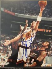Jason Kidd Signed Phoenix Suns 8x10 Photo Nets Dallas Mavericks Milwaukee Bucks