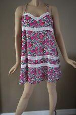 Abercrombie Fitch Women's Floral & Lace Mini Lined Sundress Size L