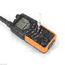IP67! SainSonic RST599 Dual Band V/UHF 136-174/400-520MHz FM Ham Two-Way Radio