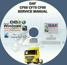 DAF CF65 CF75 CF85 SERVICE REPAIR MANUAL