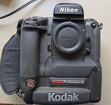 KODAK NIKON DCS 760 VINTAGE DIGITAL CAMERA - RARE CHARGER - 7015 ACTUATIONS!!