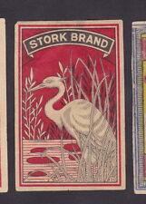 Anciennes étiquettes  Allumettes Japon BN23553 Oiseau Cigogne