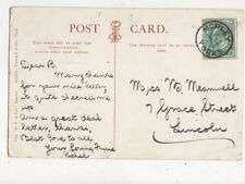 Miss B Meanwell Grace Street Lincoln 1904 486a