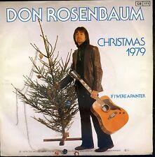 7inch DON ROSENBAUM christmas 1979  HOLLAND 1979 EX